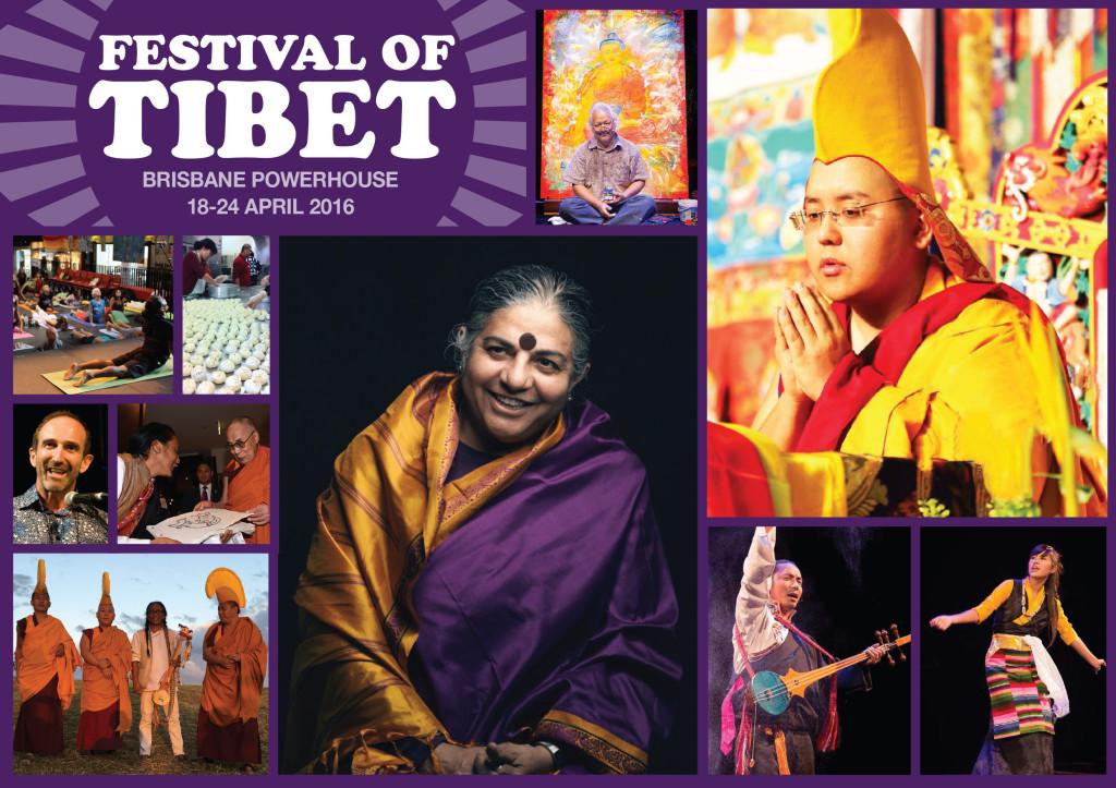 Festival of Tibet 2016 flyer